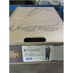 Frogg Loggs Anura Breathable Nylon Stocking Foot Waders size M