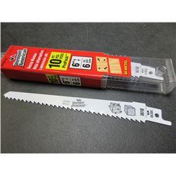 "New Vermont American Swiss Made Recip/Sawzall Blades 10pc 6"" blades"