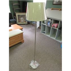 Floor Lamp brushed nickle / 57in tall