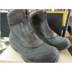 Ascend Waterproof Leather Zip Pac Boot size 12