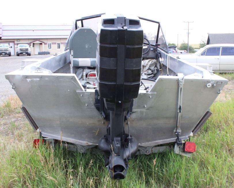 1990 Aluminum Almar Outboard Jet Boat