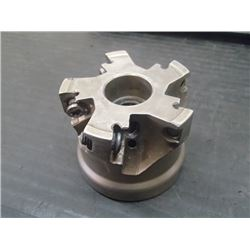 """Iscar 2"""" Indexable Coolant Thru Face Mill, P/N: HM390 FTD D2.00-5-.75-15"""
