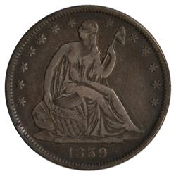 1859-O Seated Liberty Half Dollar Coin
