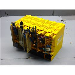 LOT OF (6) FANUC A03B-0807-C154 A0D16D I/O CARDS