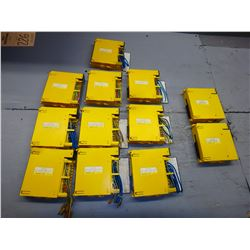 FANUC *LOT OF 12* AID16D A03B-0807-C104 (10), AIF01A A03B-0807-C011 (2)