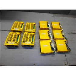 FANUC *LOT OF 10* SDU1 A02B-0236-C203 (4), AOD16D A03B-0807-C154 (6)