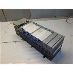 ALLEN BRADLEY SLC 500 1746-A10 10-SLOT RACK W/ 7 MODULES *SEE PICS FOR MODULE PART#'S