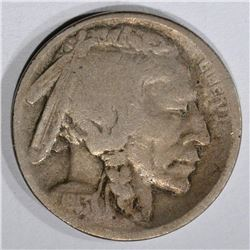1913-S TYPE-2 BUFFALO NICKEL, VG