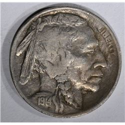 1914-S BUFFALO NICKEL, VF