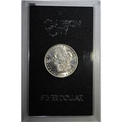 1882-CC GSA MORGAN DOLLAR CH BU ORIG. BOX/COA