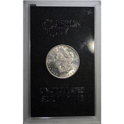1883-CC GSA MORGAN DOLLAR CH BU ORIG. BOX/COA