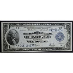 1918 $1 FEDERAL RESERVE BANK NOTE