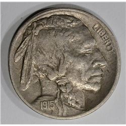 1915 D BUFFALO NICKEL  AU
