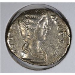 217 AD SILVER DENARIUS EMPRESS JULIA DOMNA