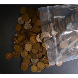 1000 UNSEARCHED WHEAT CENTS