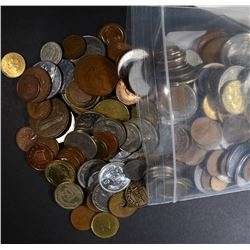 5 lbs UNSEARCHED FOREIGN COINS