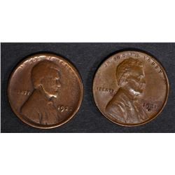 1922 LINCOLN CENT GOOD & 1931-D