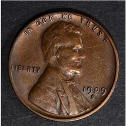 1909-S LINCOLN CENT VF/XF