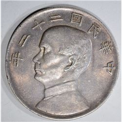 CHINA JUNK SILVER DOLLAR