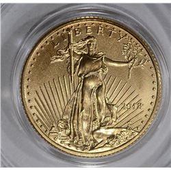 2018 GEM BU 1/10th OUNCE AMERICAN GOLD EAGLE