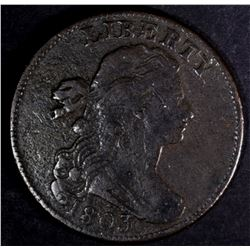 1803 LARGE CENT, S-254, VF NICE