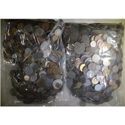 OVER 25 POUNDS FOREIGN COINS GOOD MIX