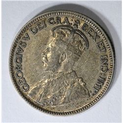 1936 DOT CANADA 25 CENTS  AU
