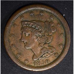 1850 HALF CENT  VF