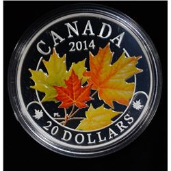 "2014 ROYAL CANADIAN MINT ""THE MAJESTIC"