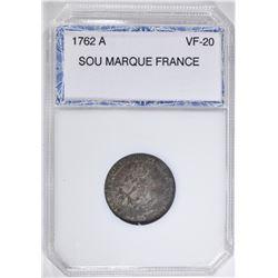 1762 A SOU MARQUE FRANCE PCI VF