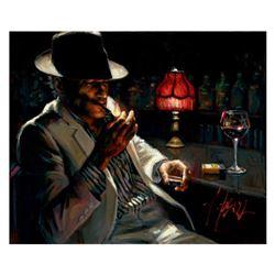 Man Lighting Cigarette V by Perez, Fabian