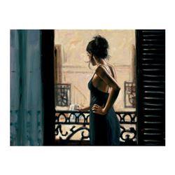 At the Balcony by Perez, Fabian