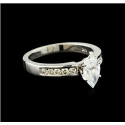 1.39 ctw Diamond Ring - 14KT White Gold
