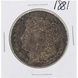1881 $1 Morgan Silver Dollar Coin - Great Toning!