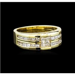 14KT Yellow Gold 1.64 ctw Diamond Ring