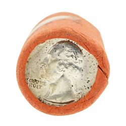 Tube of 40 1959D Washington Quarter Dollars