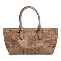 Gucci Beige Leather Horsebit Tote Shoulder Bag
