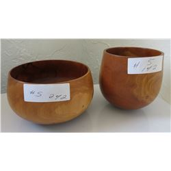 Pair of Hawaiian Bowls