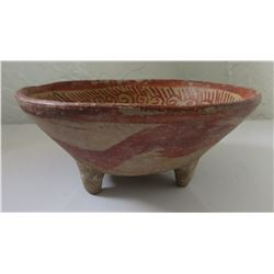 Tripod Clay Bowl