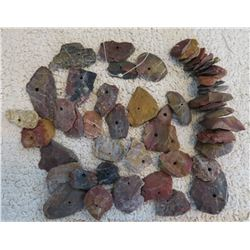 Collection of Drilled Stone Beads