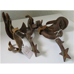 Antique Matched Pair Mexican Spurs