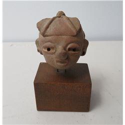 Mayan Pre-Columbian Head