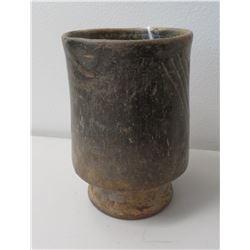 Footed Mayan Pot