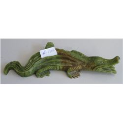 Chinese Alligator Carving