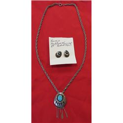 Navajo Sterling Silver & Turquoise Jewelry