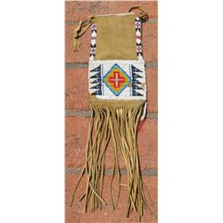Plains Indian Beaded Bag