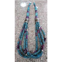 T & R Singer Turquoise Necklace