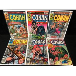 CONAN THE BARBARIAN COMIC BOOK LOT (MARVEL COMICS)