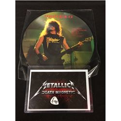 LIMITED EDITION METALLICA INTERVIEW PICTURE DISC W/ EXTRAS