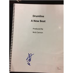 "Nick Cannon Signed ""Drumline: A New Beat"" Full Script (JSA Hologram)"